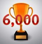 6000 hits
